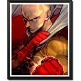 Yansang ONE PUNCH MAN Anime Art Prints Wall Art Picture for Bedroom Home Decor Canvas Print Poster,8 x 10 Inches,No…
