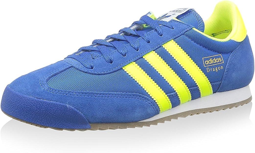 adidas originals dragon blue yellow