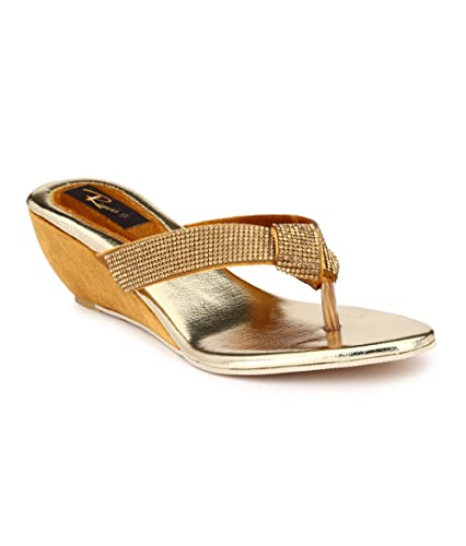 Rimezs Beige Wedges Heels discount really top quality for sale 3YoUffOvb