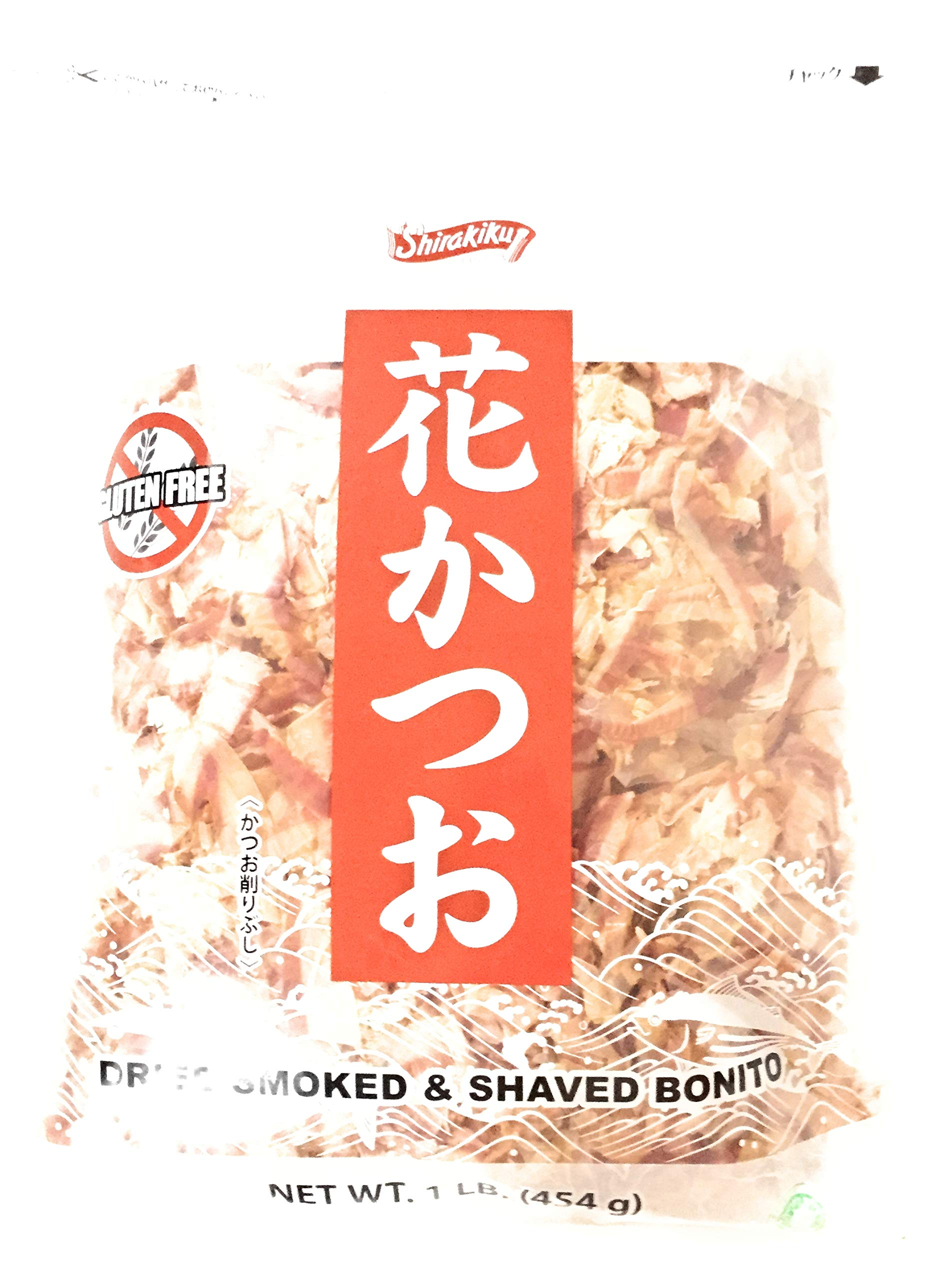 Shirakiku Dried Smoked & Shaved Bonito (1 lb)