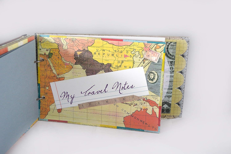 Scrapbook album, Travel Scrapbook photo album, travel ...