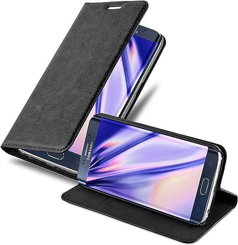 Cadorabo Hülle Für Samsung Galaxy S6 Edge In Nacht Elektronik
