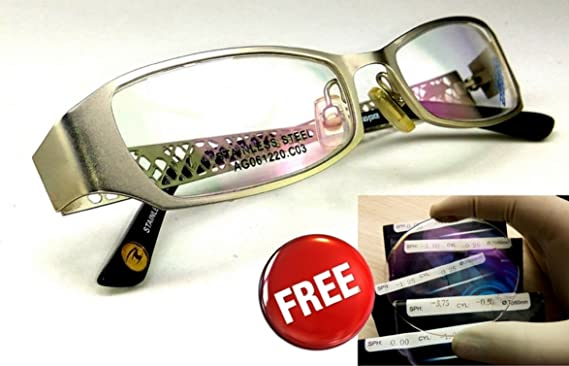 18b8b6e0792 ... (power) UV protection-computer mobile protection lenses with Nayan  iCare new look branded rectangular full Designer spectacles frames for women  stylish ...