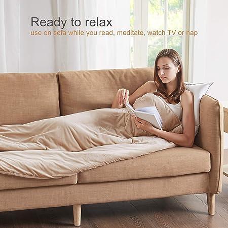 Amazon.com: Grados de comodidad [manta pesada mejorada ...