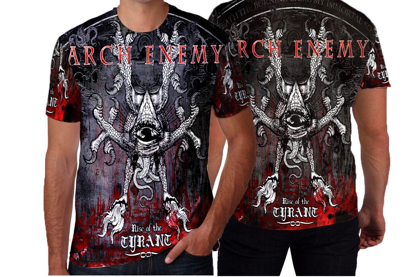Amazon Arch Enemy Melodic Death Metal Custom Man T Shirt Full