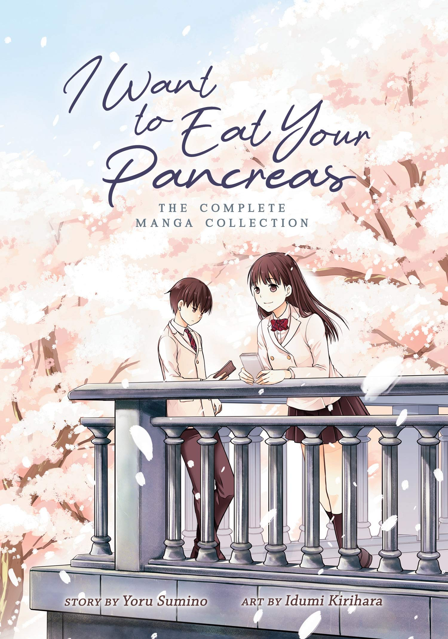 I Want To Eat Your Pancreas Manga 9781642750324 Sumino Yoru Kirihara Idumi Books