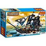 COGO 3120 Sea Rover Corsair Pirates Blocks Bricks Building Set (807 Pieces)