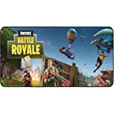 """Funky Store Fortnite Battle Royale Game Large Extended Gaming Mouse Pad Mat, Stitched Edges, Ultra Thick 3 mm, Wide & Long Mousepad 31.5"""" x 11.8"""" x 0.12"""" (3)"""