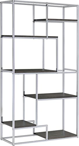 Furniture of America Corley Contemporary 6 Shelf Bookcase