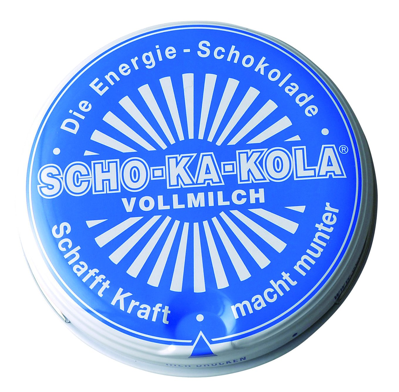 Scho-Ka-Kola Caffeine Rich German Milk Chocolate Tin: Amazon.co.uk ...