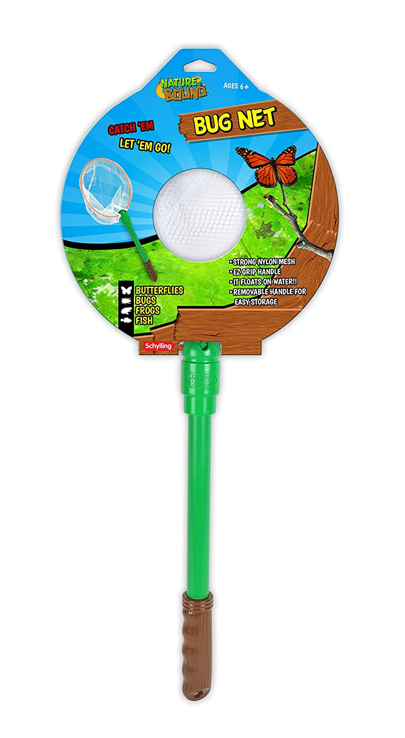 amazon com nature bound bug net with live bug and butterfly