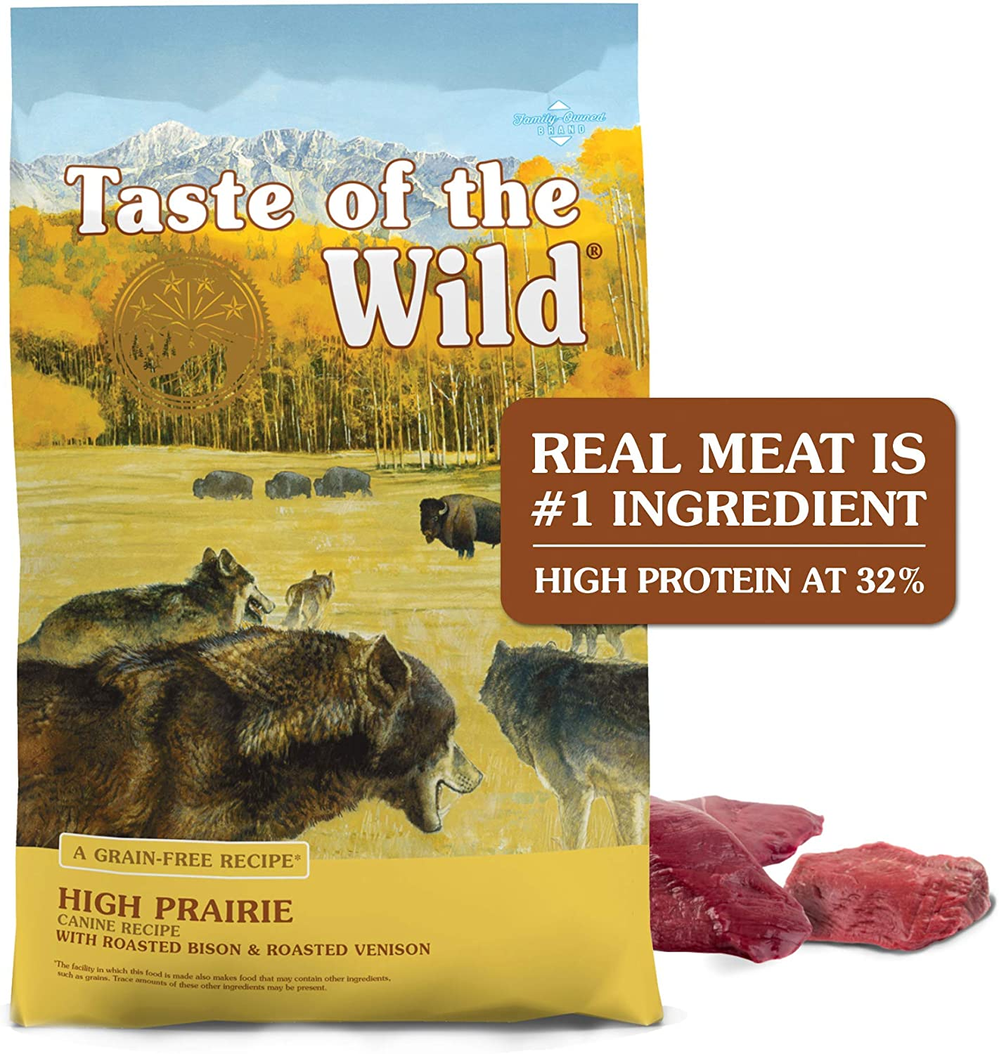 7. Taste of the Wild Dry Dog Food