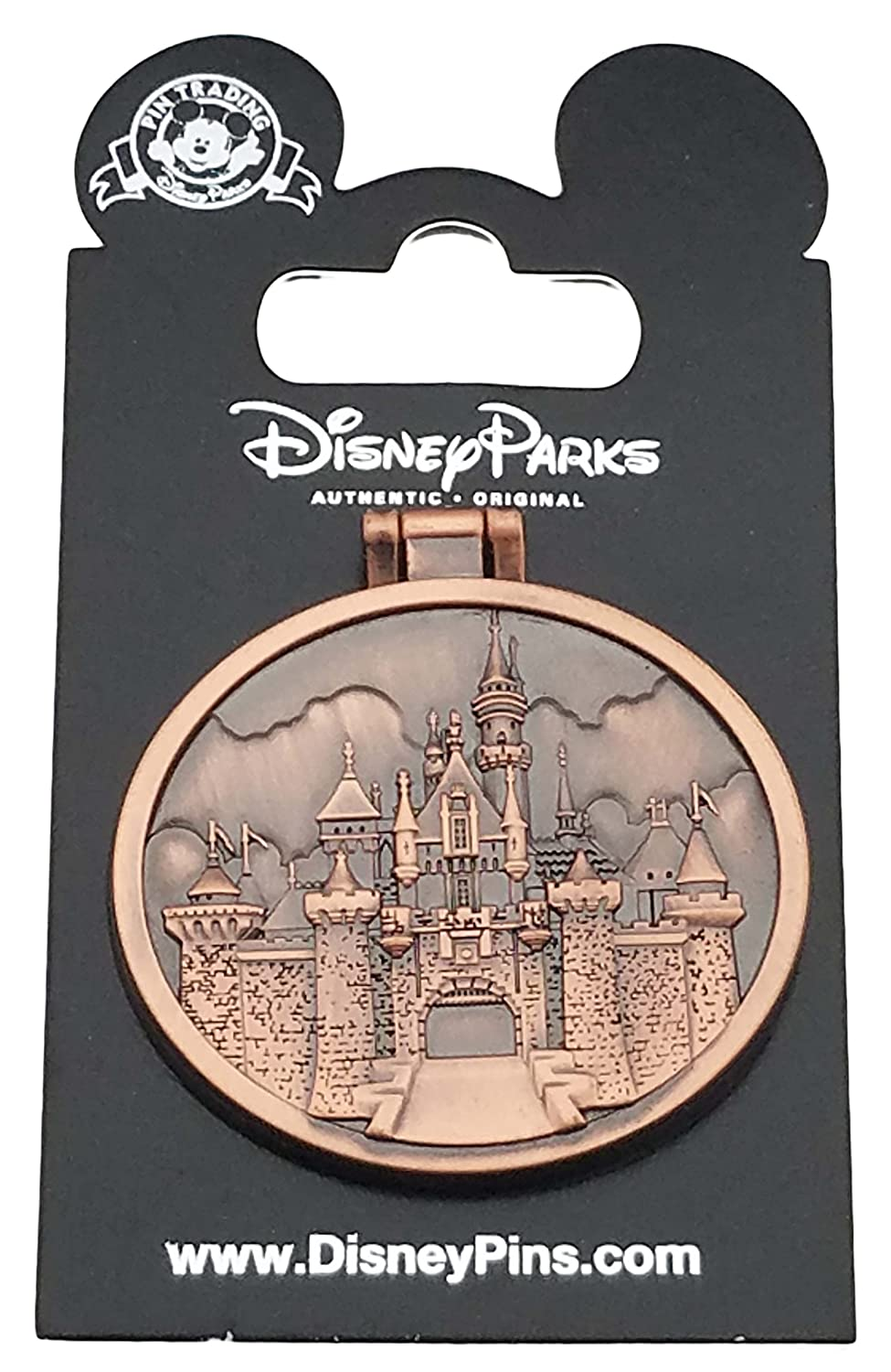 Disney Pin - Walt Quote Castle - Hinged - Photo