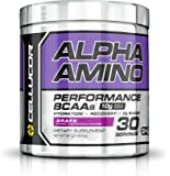 Cellucor, Alpha Amino Performance BCAAs, Grape, 30 Servings