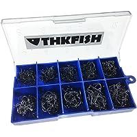 THKFISH Anzuelos de pesca, 500 piezas # 3
