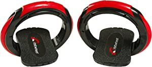 Inventist Orbitwheel Boardless Skateboard - Wheeled Red & Black Sport Skates - Compact and Easy to Carry - Transportation Has Never Been So Fun Portable and Convenient