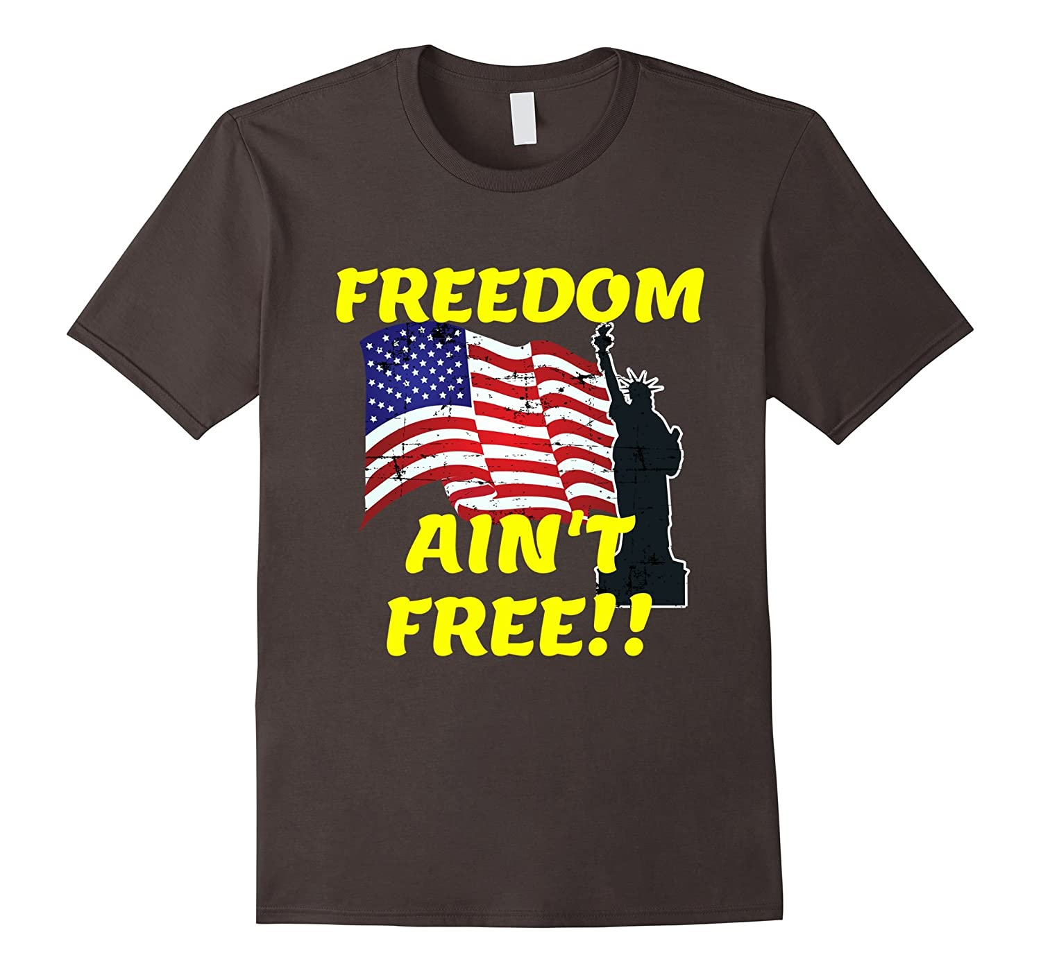 Freedom Aint FREE - Support our Troops T-shirt - Military-CD