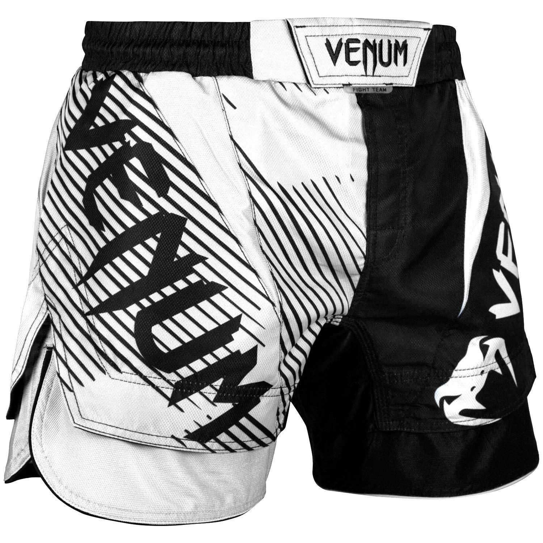 Venum MMA No Gi ブラック/ホワイト ファイトショーツ