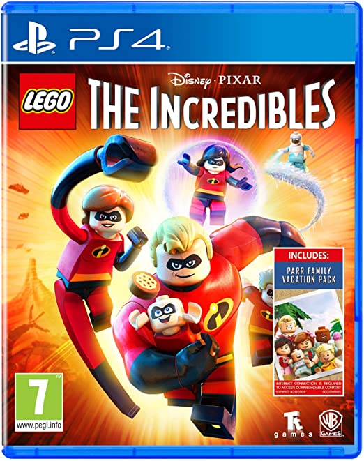 Lego The Incredibles - Amazon.co.UK DLC Exclusive (PS4)