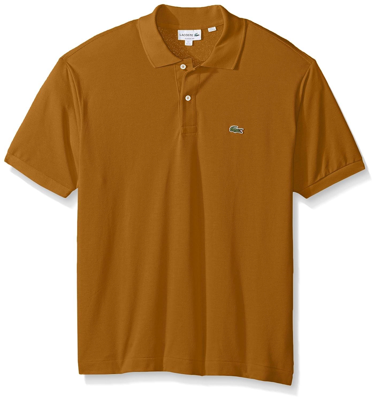 Lacoste ラコステMen's L-1212,半袖 鹿の子 ポロシャツ(並行輸入品) B01MG1Q2EI XX-Large|Renaissance Brown Renaissance Brown XX-Large