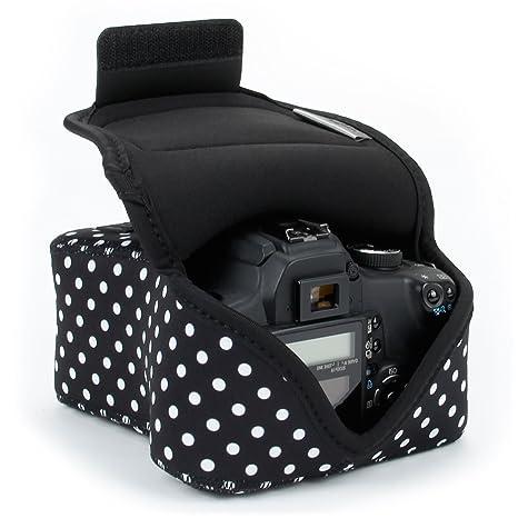 USA Gear - Funda para cámara réflex digital con protección de ...