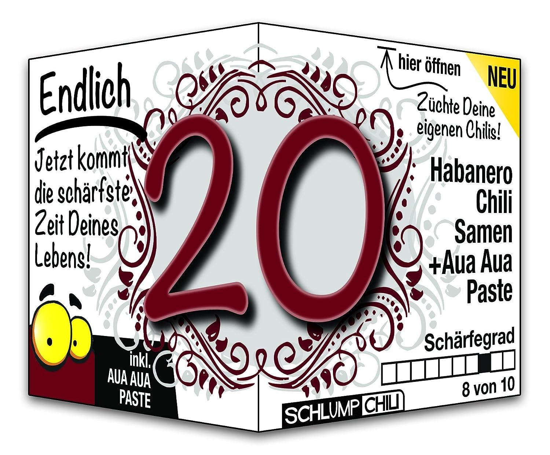 Endlich 20 - das witzige Geburtstagsgeschenk für junge Männer und ...
