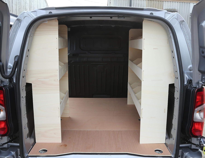 Vanify Peugeot Partner SWB 2019+ - Estantería de Madera contrachapada - Sistema de Almacenamiento OS NS - Estante de Herramientas: Amazon.es: Coche y moto