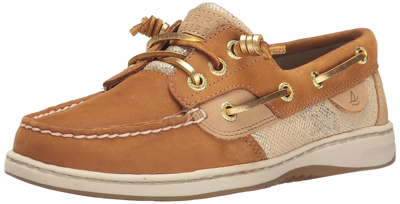 Amazon.com | Sperry Top-Sider Women's Ivyfish Metallic Python Boat Shoe,  Cognac/Gold, 5 M US | Loafers & Slip-Ons