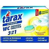 Tarax - Tablettes WC Triple Action - 8 Doses / 200 g - Lot de 4