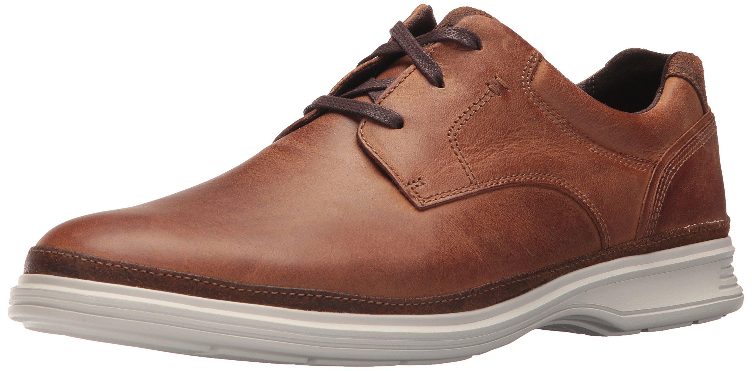 Rockport Men's DresSports 2 Go Plain Toe Shoe, new caramel, 13 M US