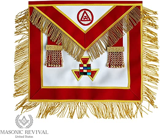 15MA253 Past High Priest Apron by Masonic Revival Royal Arch