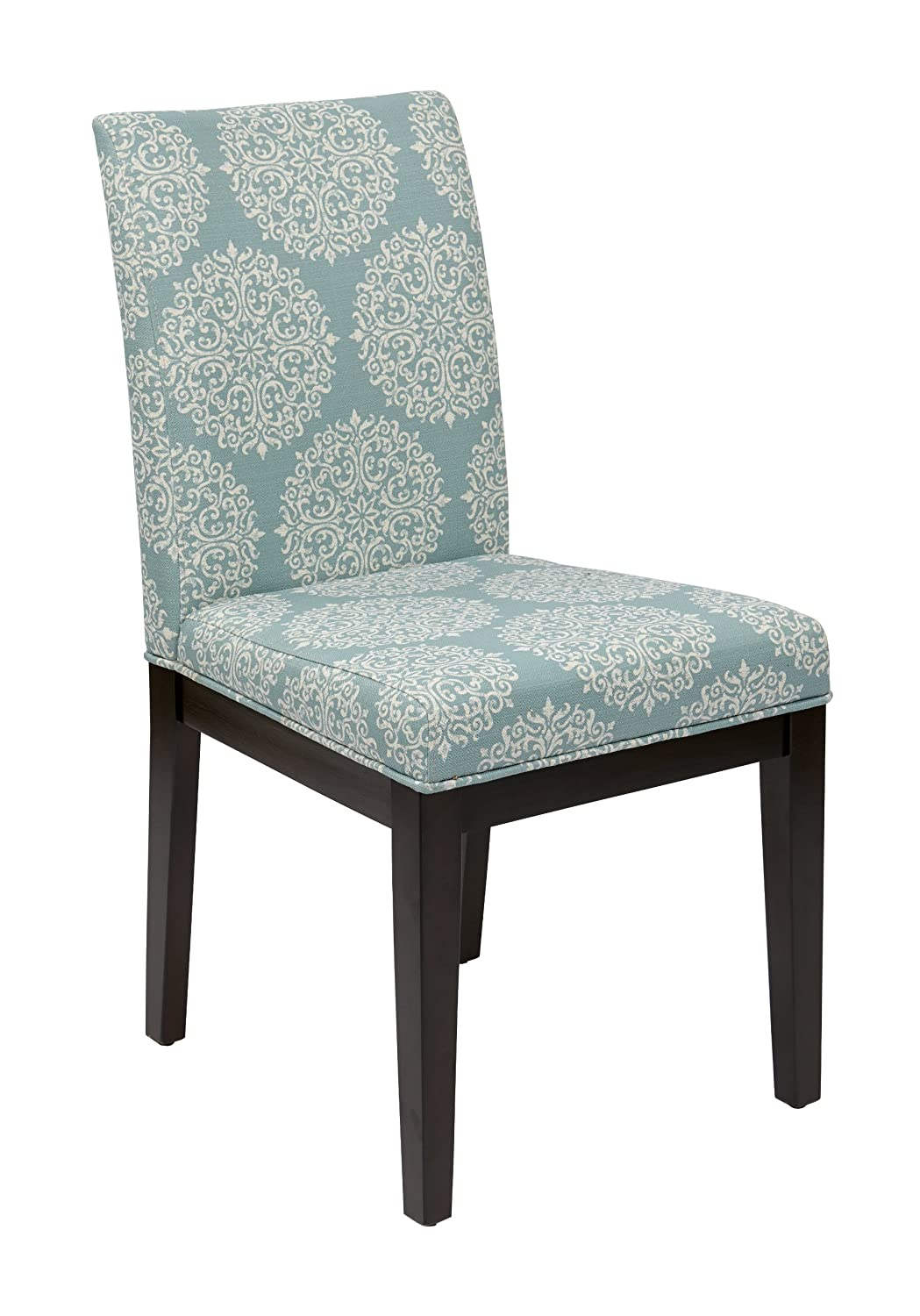 Brand-new Amazon.com: AVE SIX Dakota Upholstered Parsons Chair with Espresso  SW23