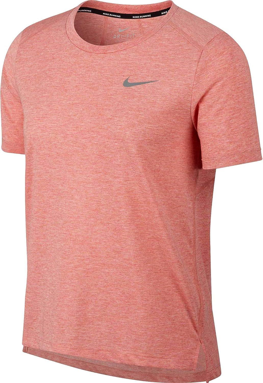 promo code f591a b31d4 Amazon.com  Nike Women s Miler Short Sleeve Running Shirt  Clothing
