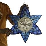 Gift Ko Handmade Blue Orchid Parol Blue White