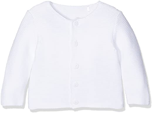 White Purl Knit Cardigan, White, Up to 3 Months (Manufacturer Size ...