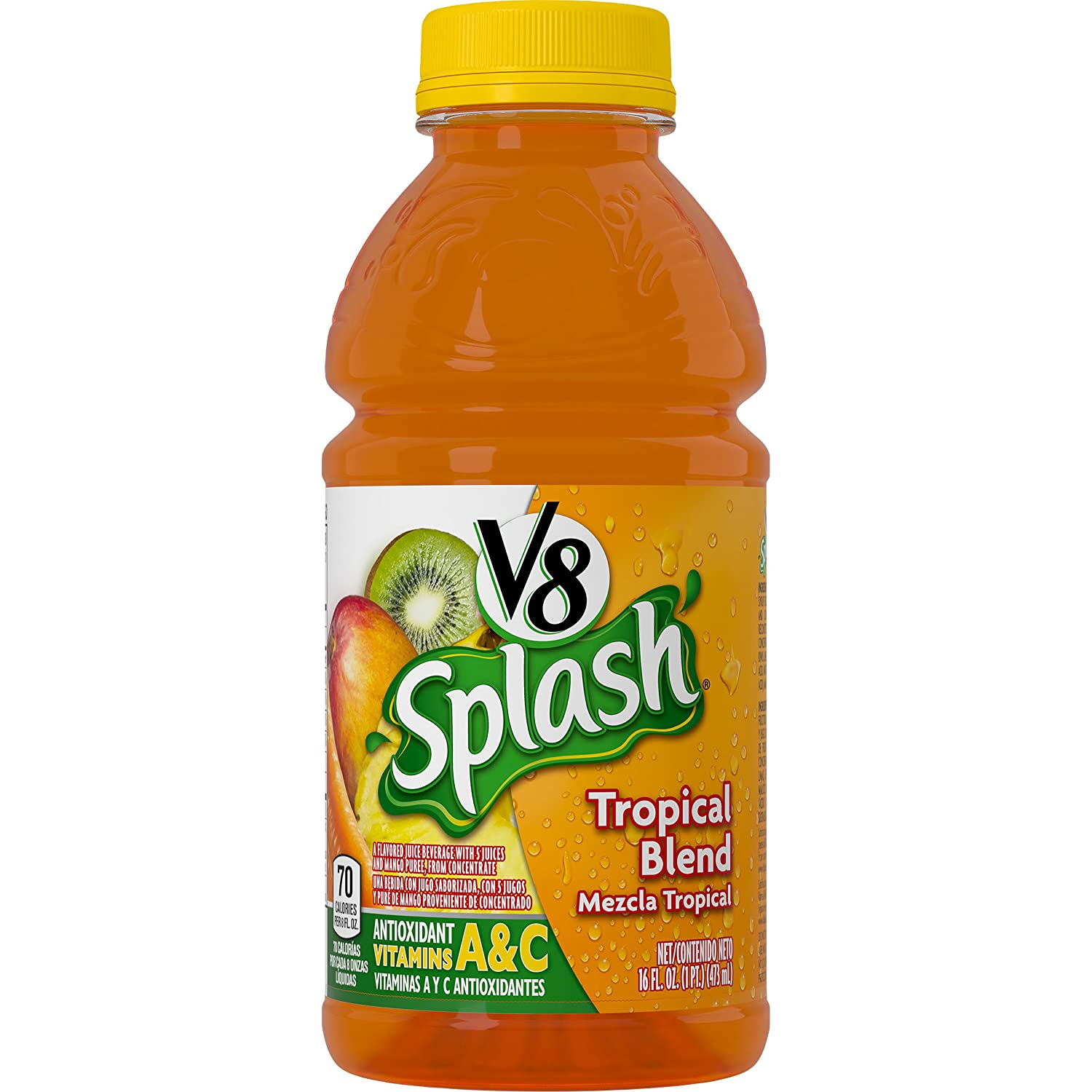 Amazon.com : V8 Splash, Berry Blend, 16 Ounce (Pack of 24) : Juice : Grocery & Gourmet Food
