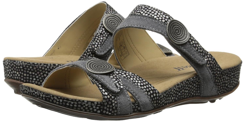 Romika Women's Fidschi 22 Dress Sandal B0093QIS4C 39 BR/8-9 M US|Black Kombi