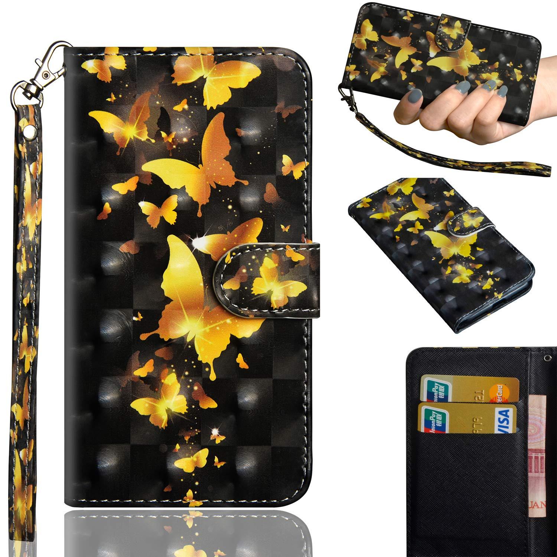 Kihying Funda para Doogee X5 MAX/Doogee X5 MAX Pro Funda Cáscara Case A Prueba de choques Que Cae PU Cuero 3D Moda Caja del teléfono móvil (Patrón: Amazon.es: Electrónica