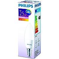 Philips 929001157483 İnce Duylu Led Mum Ampul B35, E14, 25 W, 1 Parça