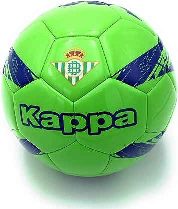 Kappa Balón de fútbol Real Betis, Verde/Azul, Talla 5: Amazon.es ...