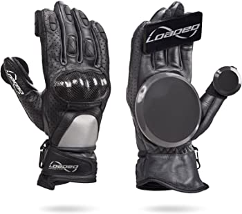 Loaded Boards Leather Downhill Skateboard Gloves