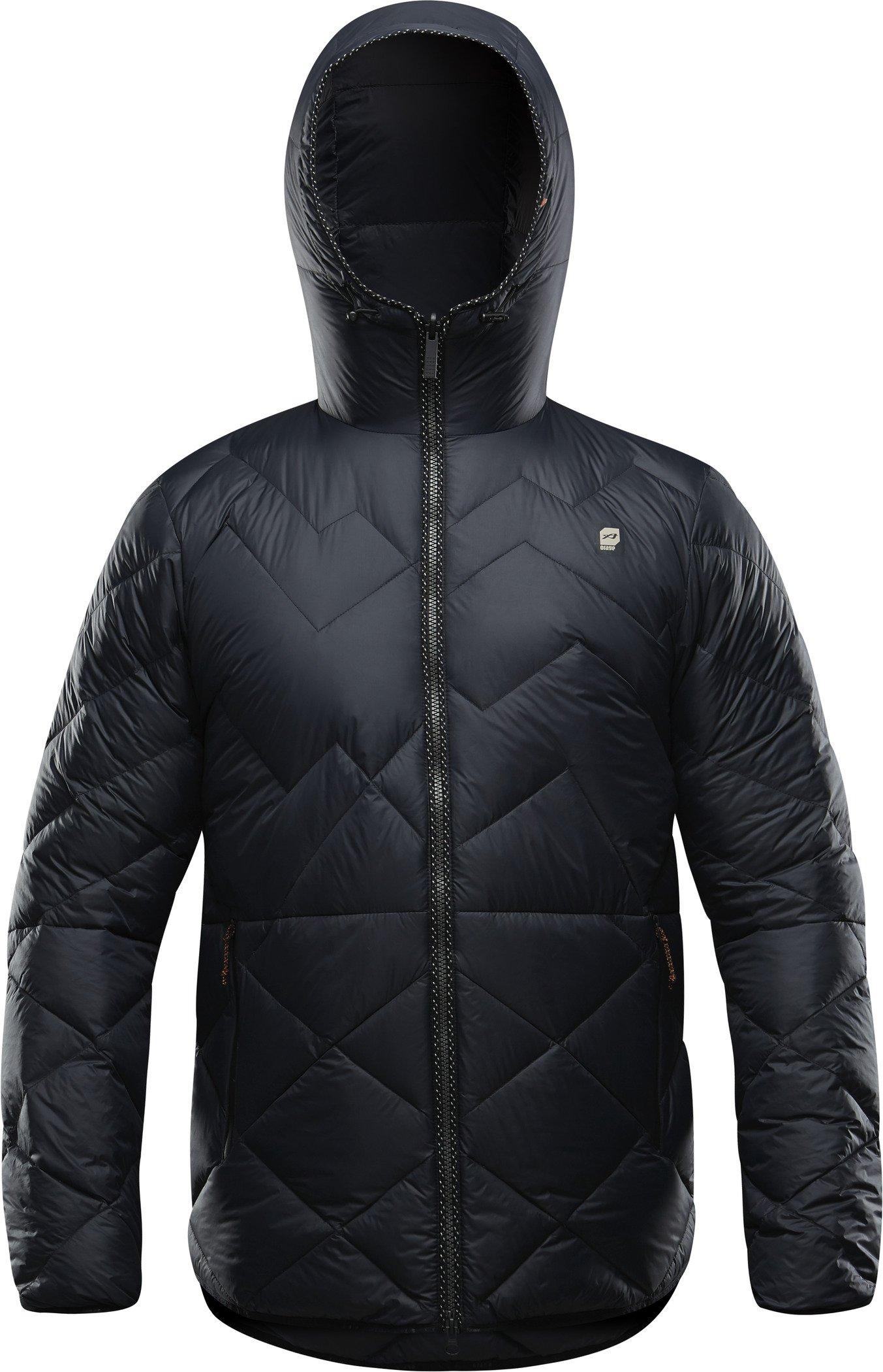 orage Men's Newton Coat, Black, Large