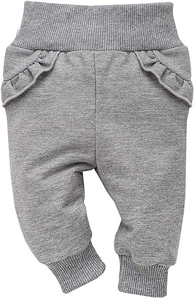 Pinokio - Unicorn - Pantalones Bebé Niñas Leggings Gris Algodón Pantalones de Chándal Cintura Elástica (80 cm, Gris): Amazon.es: Ropa y accesorios
