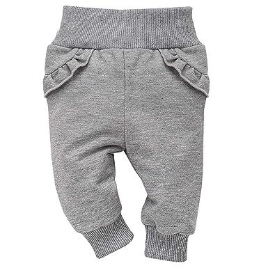 Pinokio - Unicorn - Pantalones Bebé Niñas Leggings Gris Algodón ...