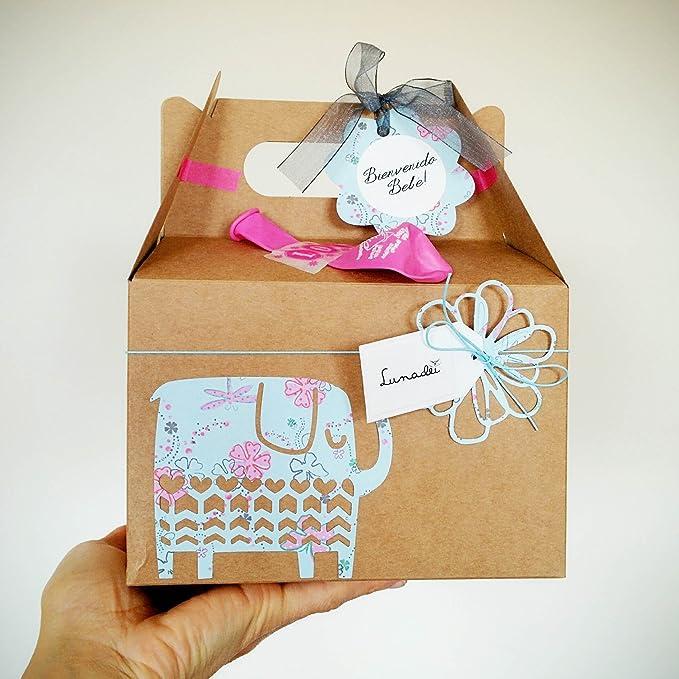 Cajita Regalo para Recién Nacidos con Cupcake (Babero TOMMEE TIPPEE ...