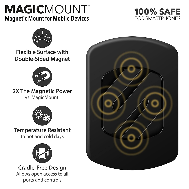 Mount Stand for Universal//Smartphone Black SCOSCHE Handlebar