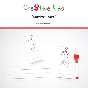 Cursive-Trace-Educational-Learning-Bag