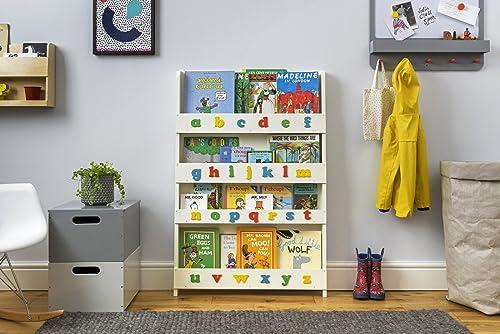 Tidy Books Aufbewahrung für Kinderbücher | Kinder Bücherregale aus Holz