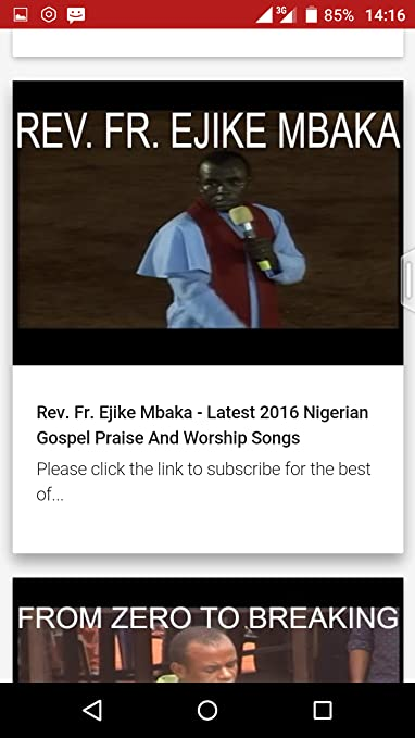 Amazon com: Rev  Fr  Mbaka Music: Appstore for Android