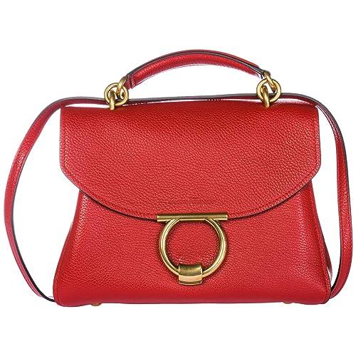 4adb426d43 Salvatore Ferragamo women Margot handbag red  Amazon.co.uk  Shoes   Bags